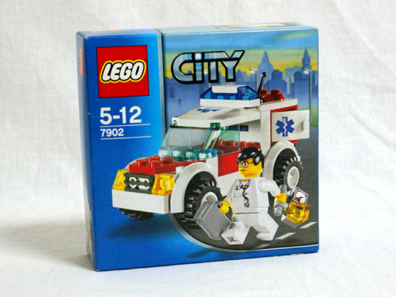 #7902 レゴ 医師専用車