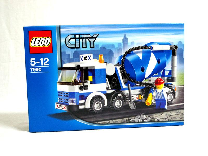 #7990 レゴ コンクリートミキサー