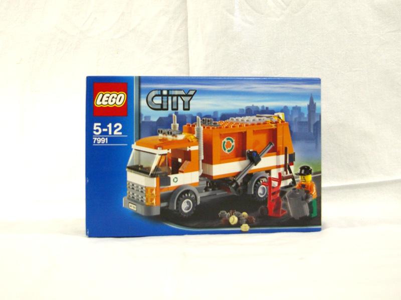 #7991 レゴ ごみ収集車