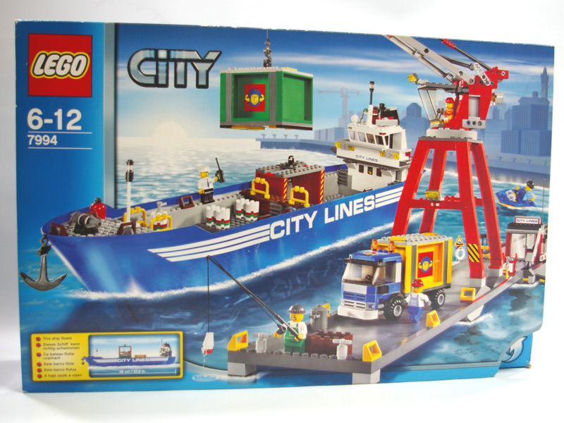 #7994 レゴ レゴシティの港