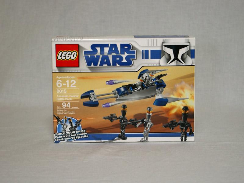 #8015 レゴ アサシンドロイドパトルパック