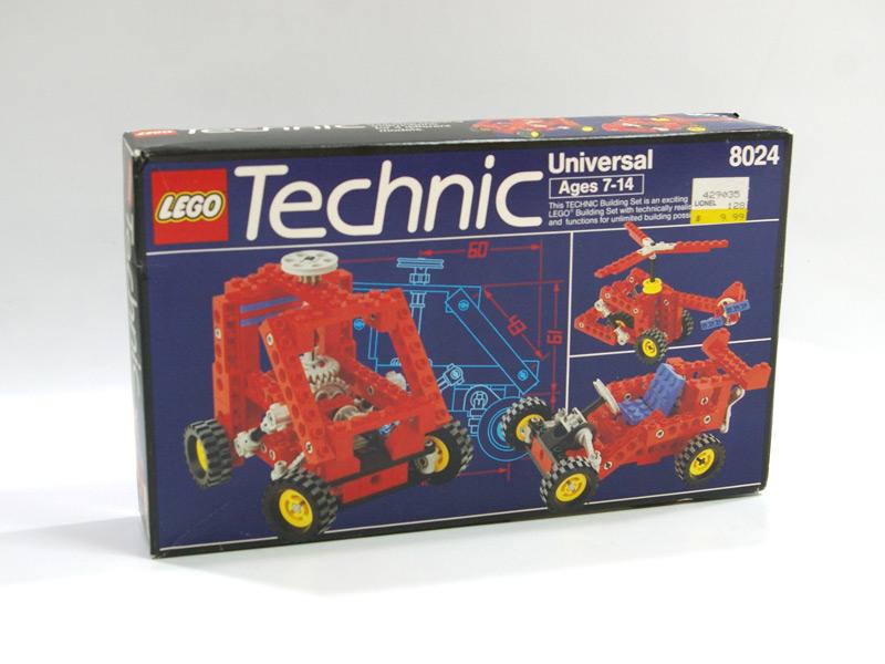 #8024 レゴ テクニック基本セット