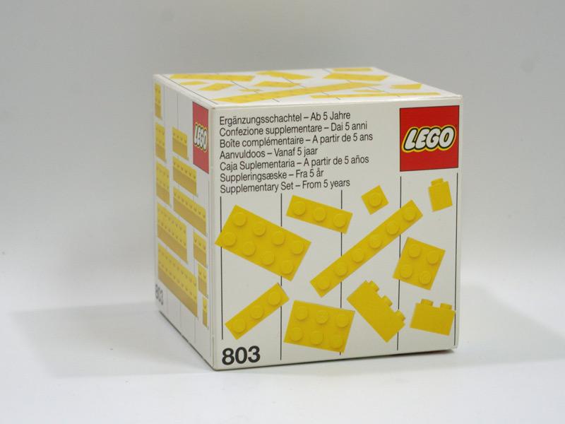 #803 レゴ 基本ブロック(黄)