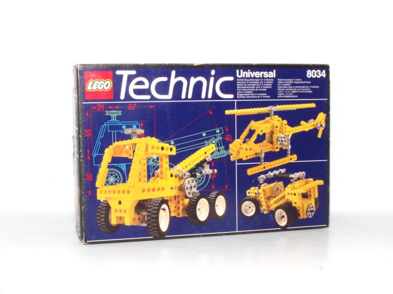 #8034 レゴ テクニカル基本セット