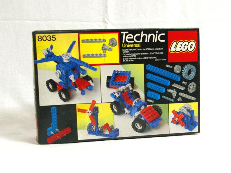 #8035 レゴ テクニカル基本セット