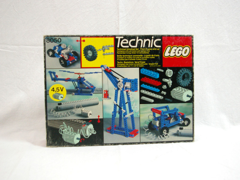 #8050 レゴ テクニカル基本セット