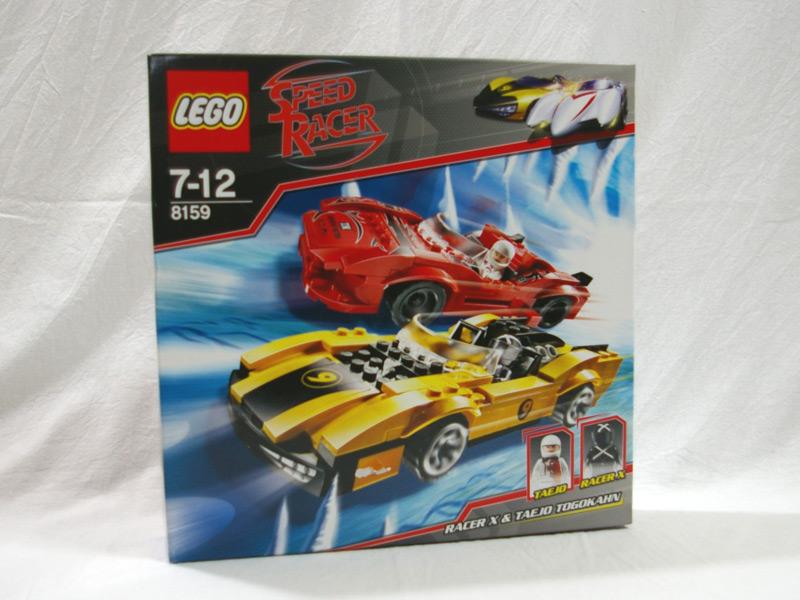 #8159 レゴ レーサーX&タエイジョ・トゴーカン