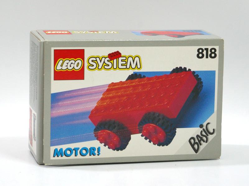 #818 レゴ プルバックモーター