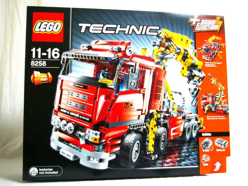 #8258 レゴ クレーン・トラック