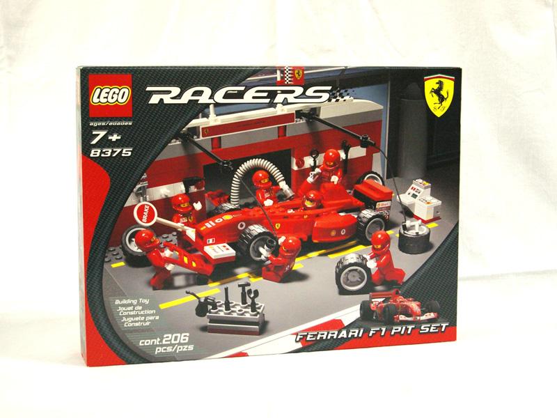 #8375 レゴ フェラーリF1ピットセット