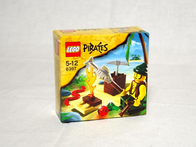 #8397 レゴ 海賊のキャンプ
