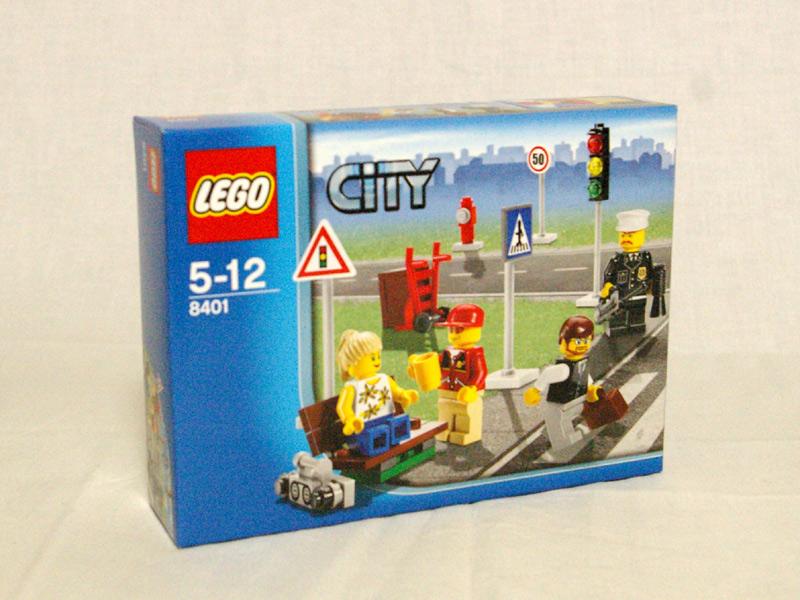 #8401 レゴ 街の人々