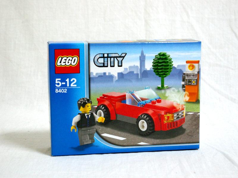 #8402 レゴ レゴの町 スポーツカー