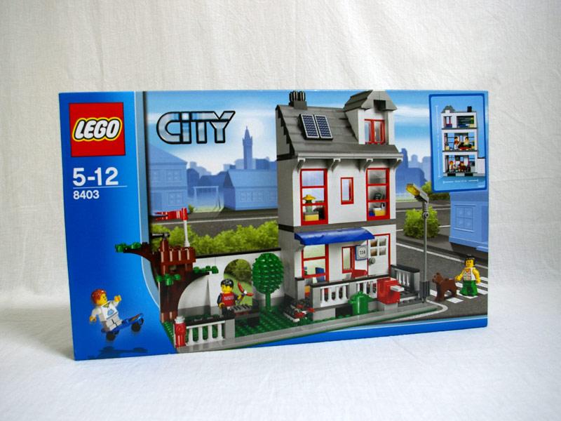 #8403 レゴ シティーハウス