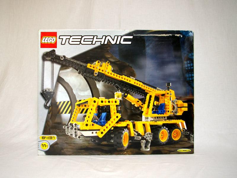 #8431 レゴ クレーン車
