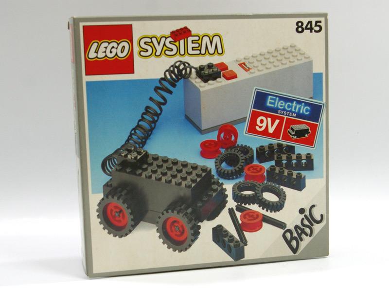 #845 レゴ 9Vバッテリーモーター