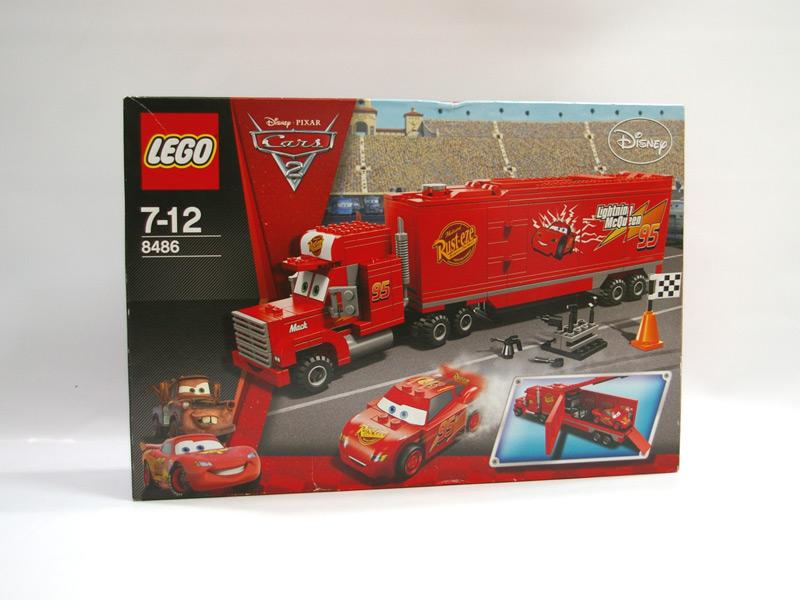 #8486 レゴ マックのチーム・トラック