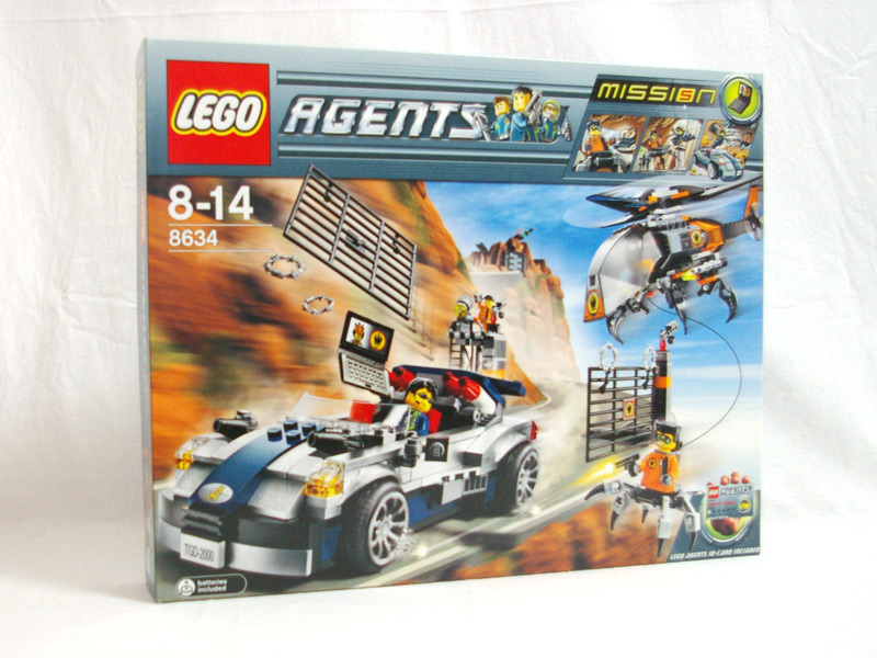 #8634 レゴ ミッション5ターボカー・チェイス