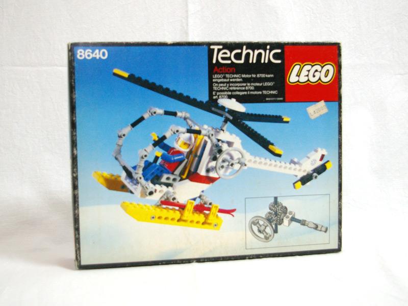 #8640 レゴ ヘリコプター