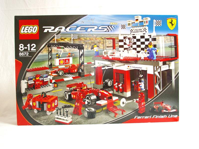 #8672 レゴ フェラーリ F1フィニシュライン
