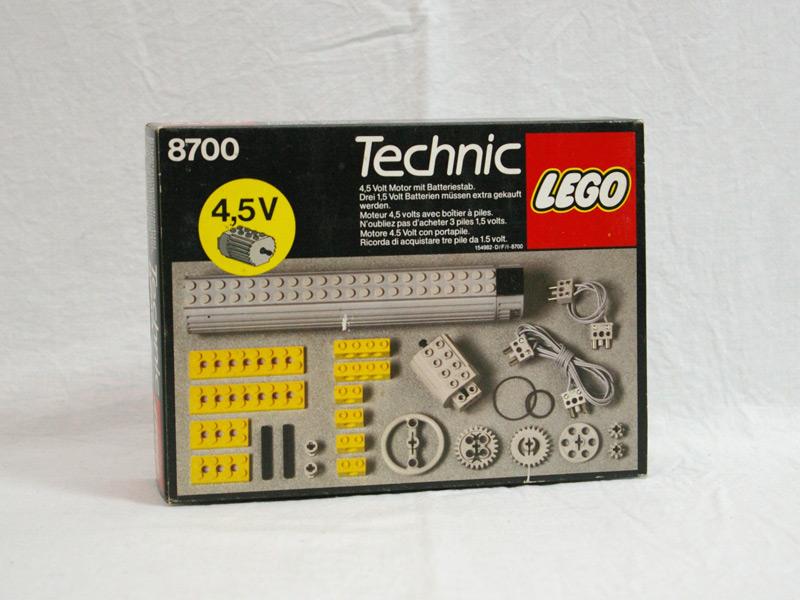 #8700 レゴ 4.5Vモーター