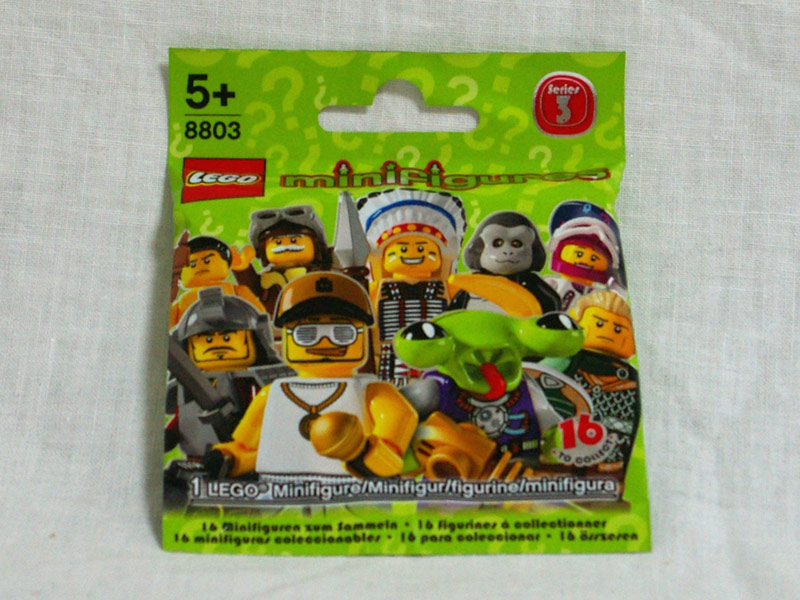 #8803 レゴ ミニフィギュアシリーズ Vol.3