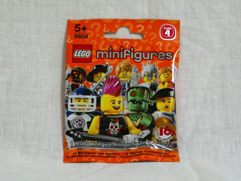 #8804 レゴ ミニフィギュアシリーズ Vol.4