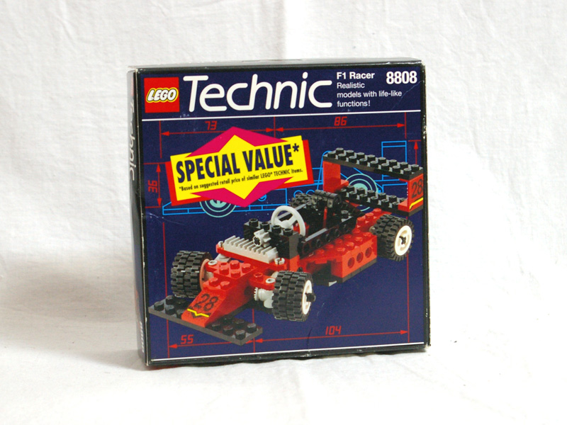 #8808 レゴ フォーミュラーカー