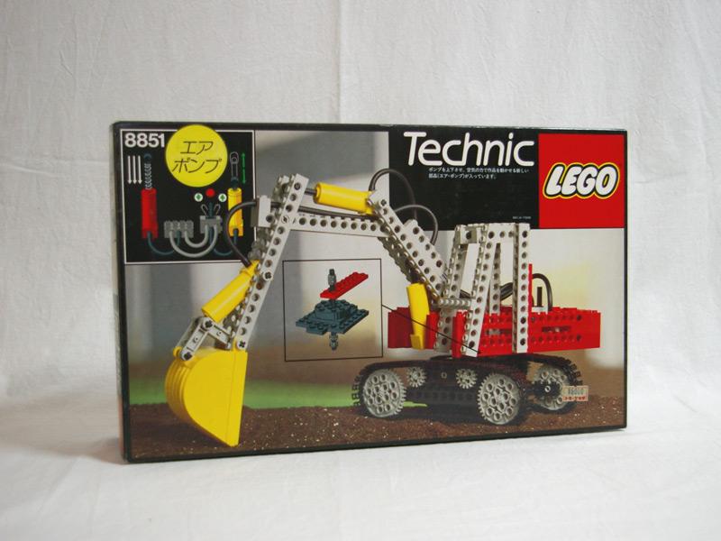 #8851 レゴ 大型パワーショベル