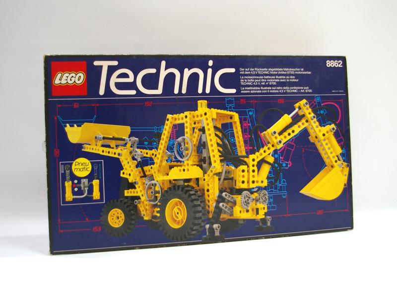 #8862 レゴ バックホー