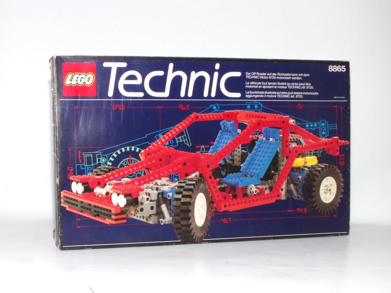 #8865 レゴ テストカー