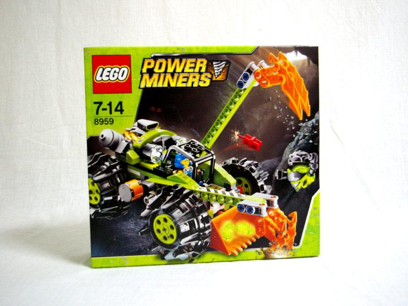 #8959 レゴ クロー・ディガー(パワー・マイナーズ4号)