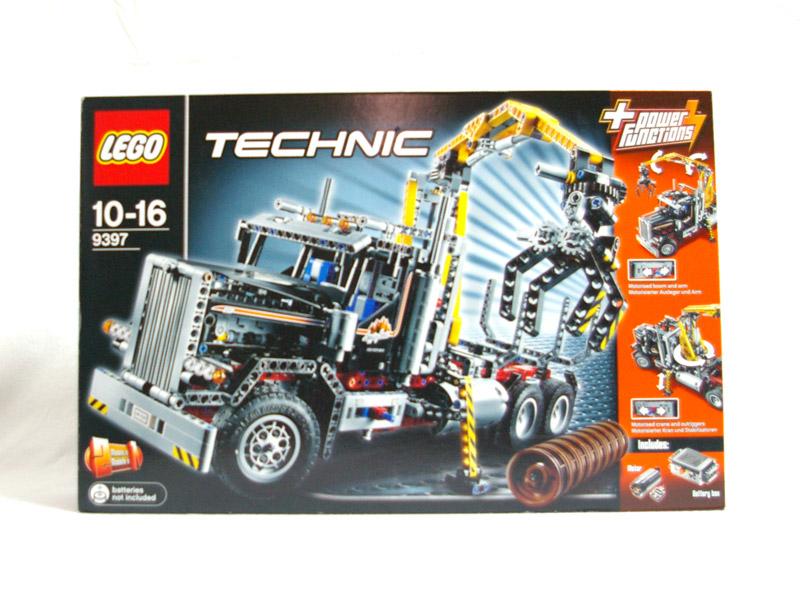 #9397 レゴ ログ・トラック