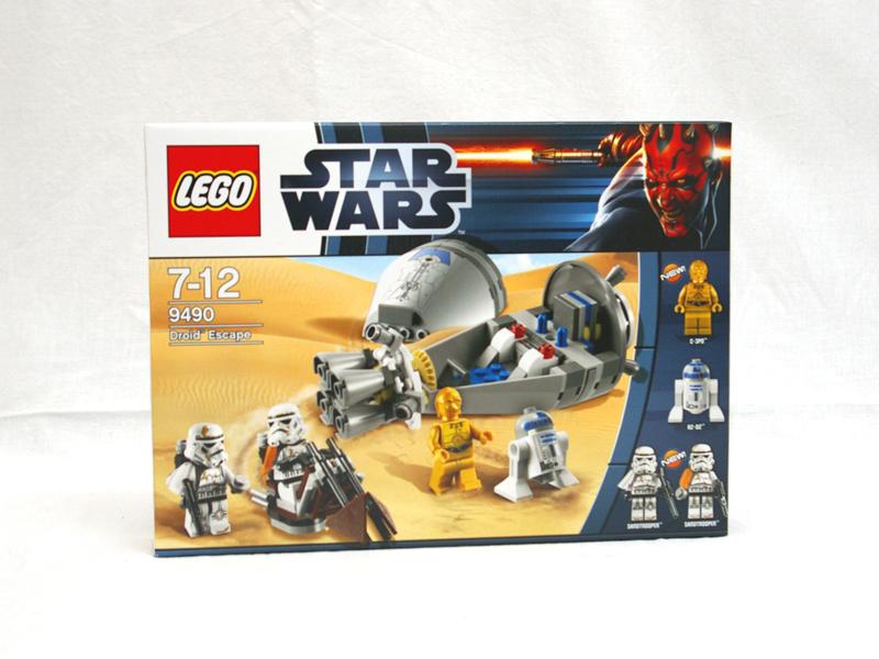 #9490 レゴ ドロイドたちの脱出