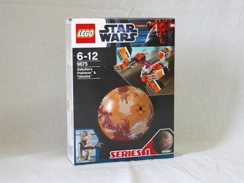 #9675 レゴ セブルバのポッドレーサーと惑星タトゥイーン