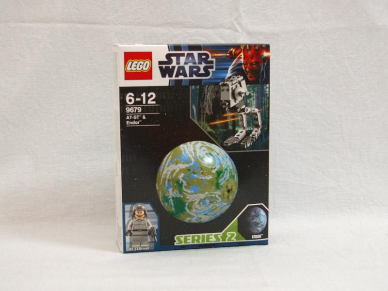 #9679 レゴ AT-STと衛星エンドア