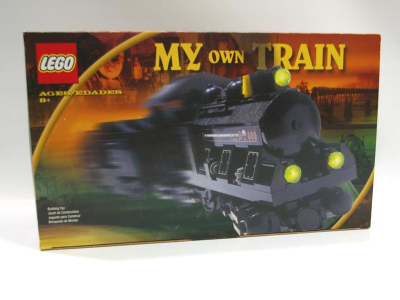#KT206 レゴ 蒸気機関車(茶色セット)