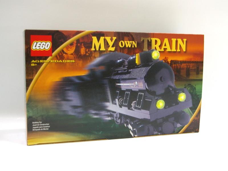 #KT405 レゴ 小型蒸気機関車(黒セット)