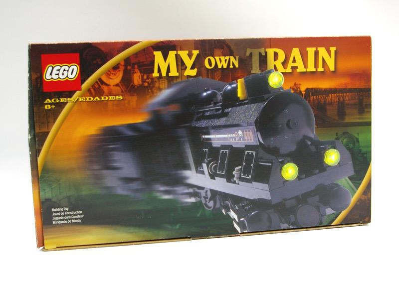 #KT406 レゴ 小型蒸気機関車(茶色セット)