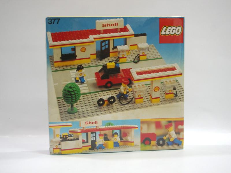 #377 レゴ ガソリンスタンド