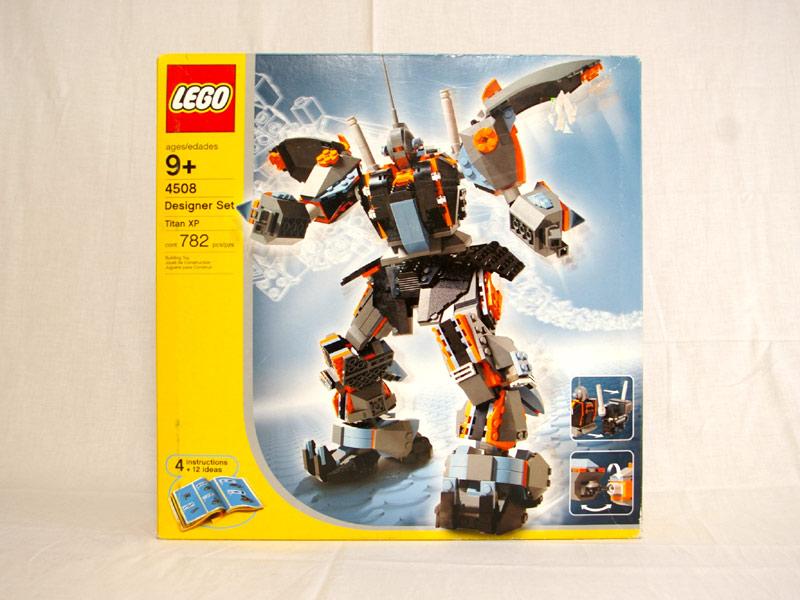 #4508 レゴ ロボットデザイナーデラックス
