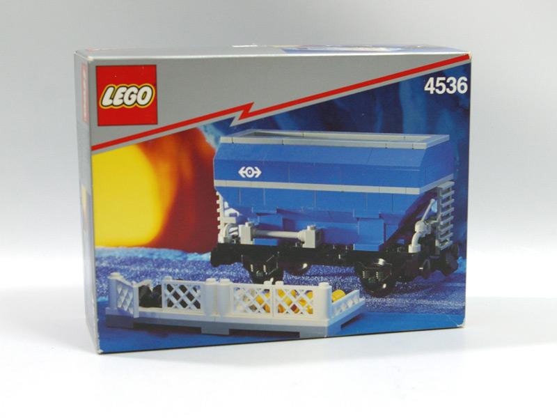#4536 レゴ 青いホッパー車