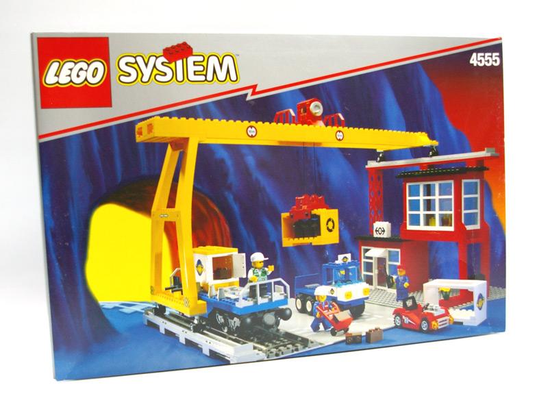 #4555 レゴ カーゴステーション