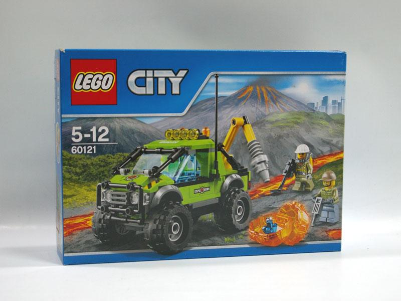 #60121 レゴ 火山調査トラック