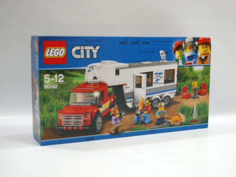 #60182 レゴ キャンプバンとピックアップトラック