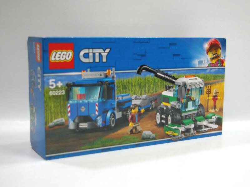 #60223 レゴ 収穫トラクターと輸送車