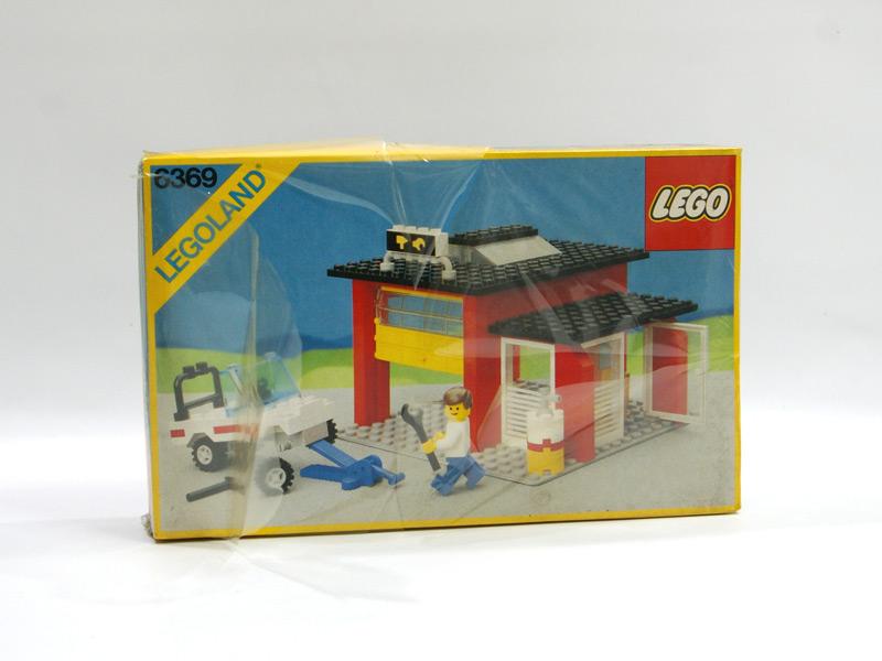 #6369 レゴ ガレージ