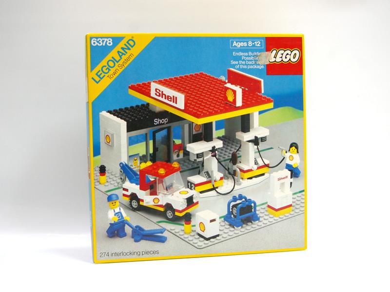 #6378 レゴ 新ガソリンスタンド