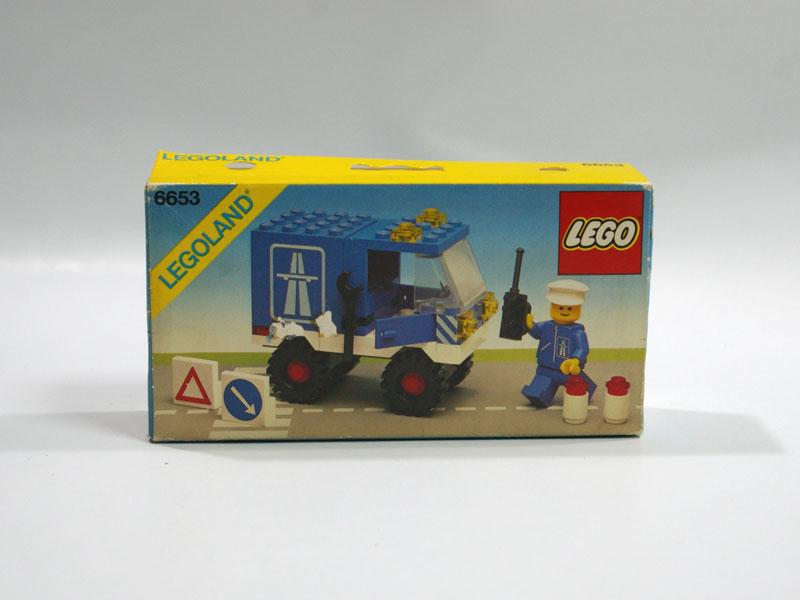 #6653 レゴ ハイウェーサービスカー