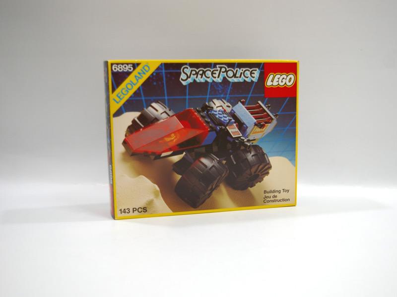 #6895 レゴ スペースポリス追跡車